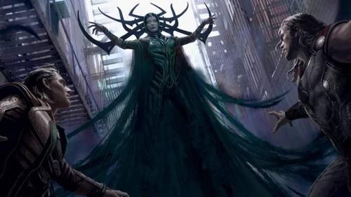 Thor: Ragnarok kertas dinding entitled Thor: Ragnarok - Concept Art