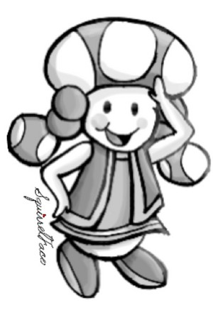 Toadette door SquirrelFace