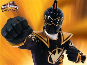 Tommy Morphed As The DT Black Ranger