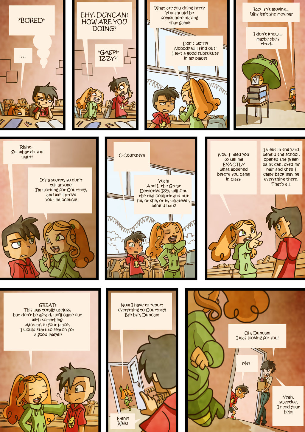 Total Drama Kids Comic Page 45