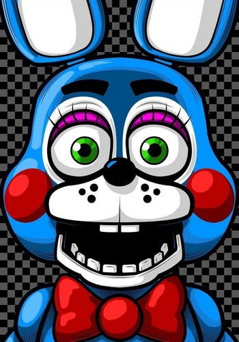 five nights at freddy's wallpaper titled Toy Bonnie