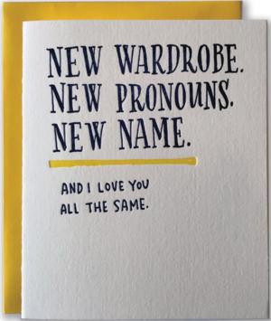 Transgender Greeting Card