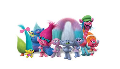 DreamWorks Trolls fondo de pantalla titled Trolls