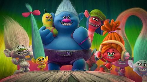 DreamWorks Trolls fond d'écran entitled Trolls