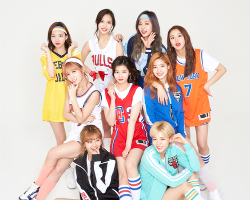 Twice (JYP Ent) wolpeyper called Twice Sudden Attack 2017 CF larawan