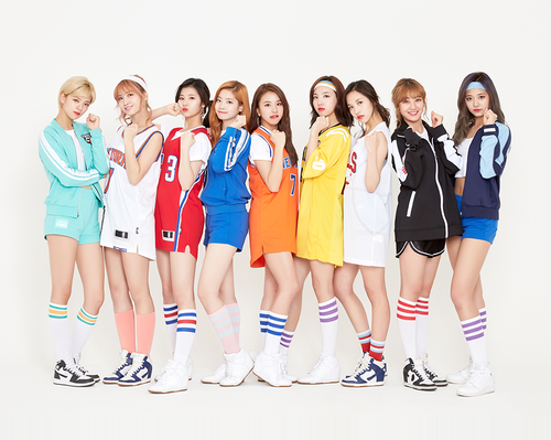 Twice (JYP Ent) پیپر وال called Twice Sudden Attack 2017 CF تصاویر