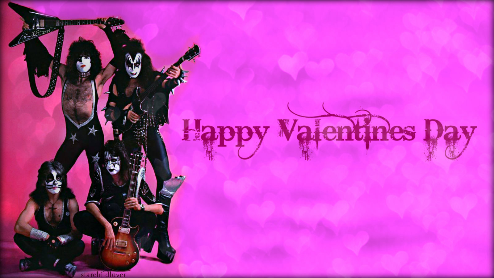 Paul Stanley Images Valentine Kisses Hd Wallpaper And Background