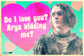 Valentine's day cards - game-of-thrones fan art