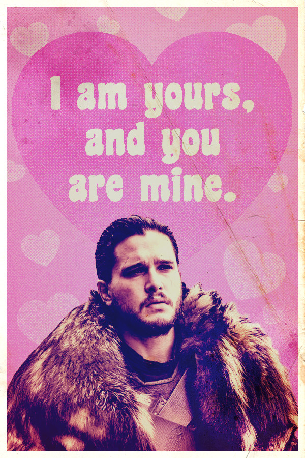 Valentine S Day Cards Game Of Thrones Fan Art 40233152 Fanpop