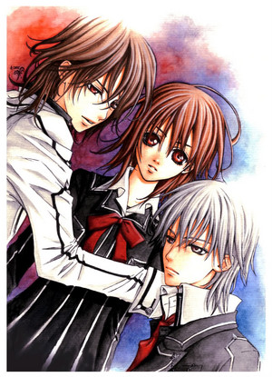 Vampire knight~ Love driehoek