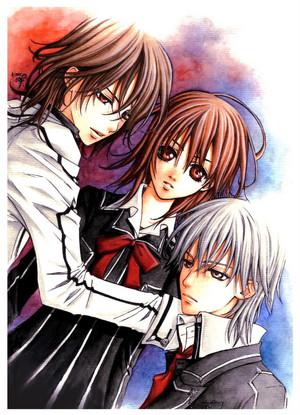 Vampire knight~ Love triangle