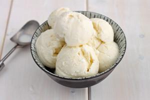 aiskrim vanilla, aiskrim vanila