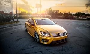 Volkswagen Passat CC (Golden Mist)