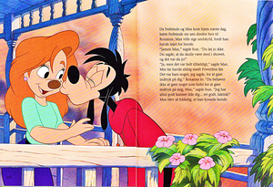 Walt Дисней Book Scans – A Goofy Movie: The Story of Max Goof (Danish Version)