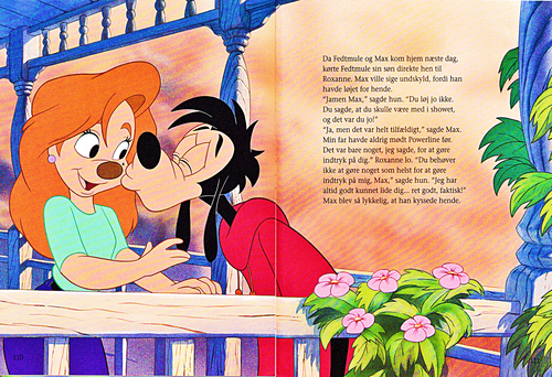 Walt Disney Characters karatasi la kupamba ukuta titled Walt Disney Book Scans – A Goofy Movie: The Story of Max Goof (Danish Version)