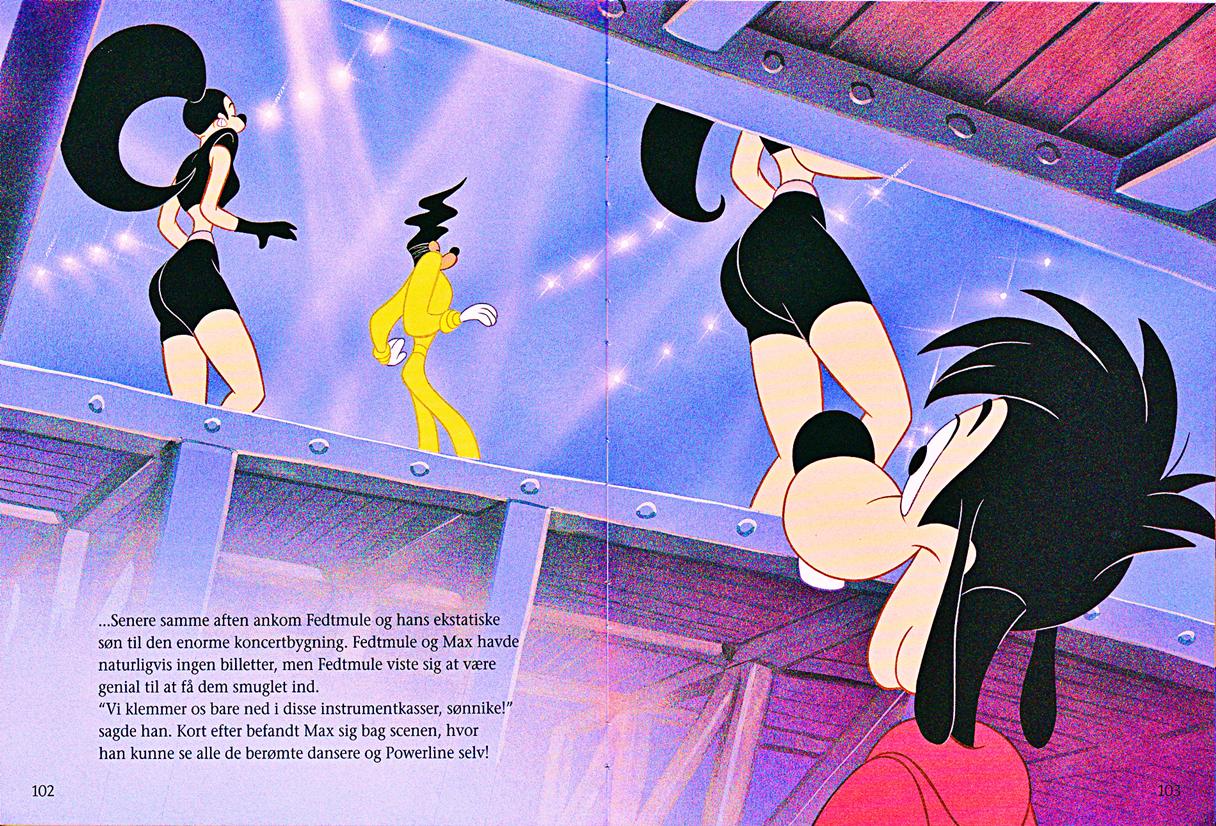 Walt Disney Book Scans – A Goofy Movie: The Story of Max Goof (Danish Version)