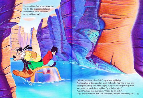 personnages de Walt Disney fond d'écran called Walt Disney Book Scans – A Goofy Movie: The Story of Max Goof (Danish Version)