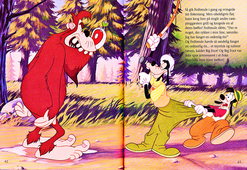Walt Disney Characters achtergrond called Walt Disney Book Scans – A Goofy Movie: The Story of Max Goof (Danish Version)