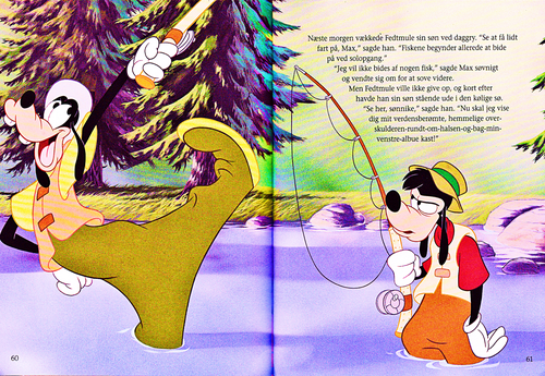 Walt Disney Characters wallpaper called Walt Disney Book Scans – A Goofy Movie: The Story of Max Goof (Danish Version)