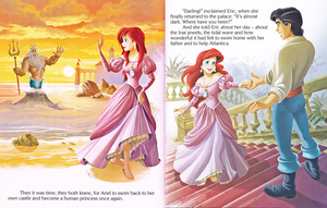 Walt disney buku – The Little Mermaid: Ariel and the Aquamarine Jewel (English Version)