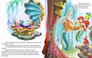 Walt Disney libri – The Little Mermaid: Ariel and the Aquamarine Jewel (English Version)