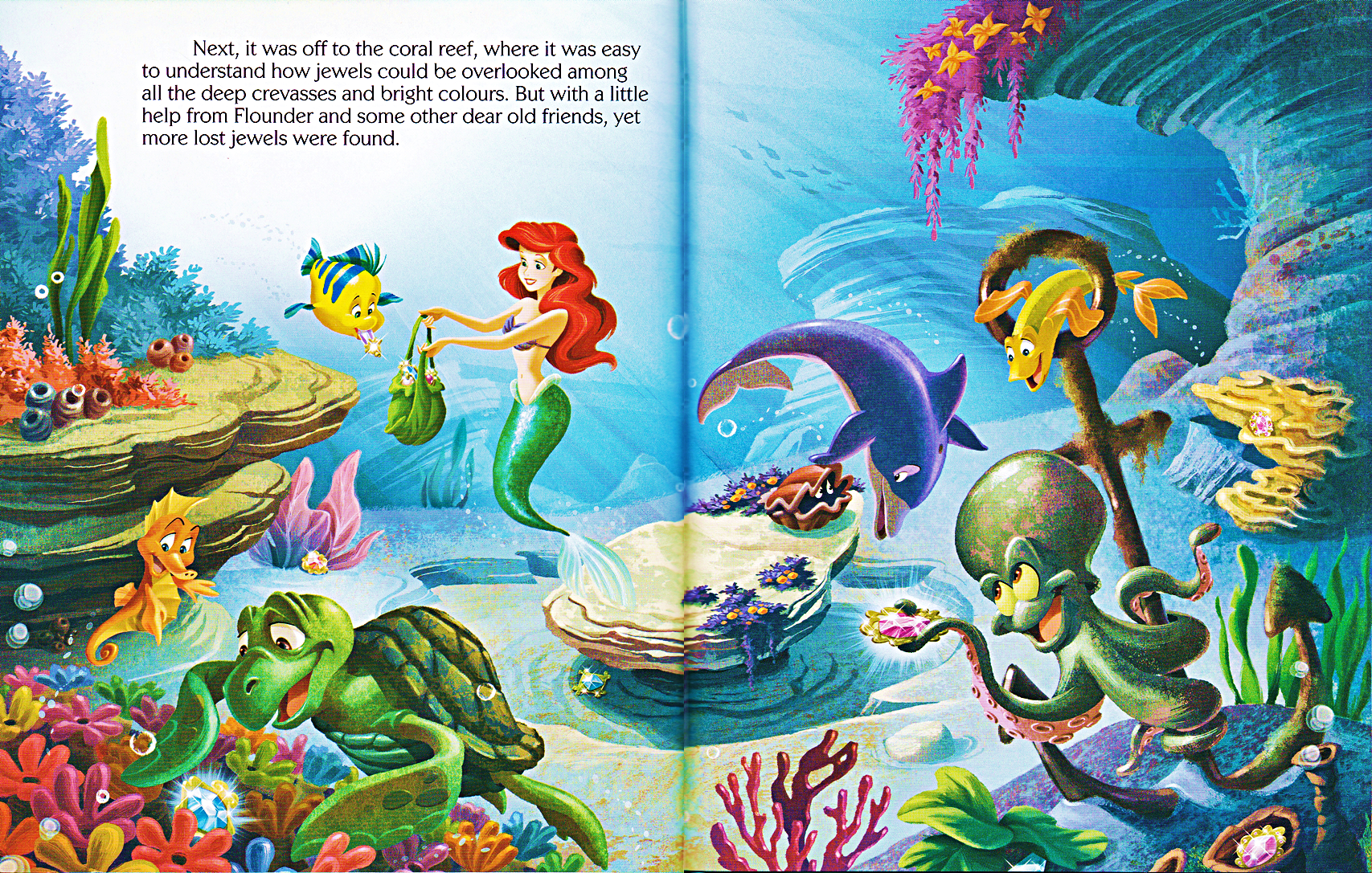 Walt Disney Livres The Little Mermaid Ariel And The