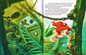 Walt Дисней Книги – The Little Mermaid: Ariel and the Aquamarine Jewel (English Version)