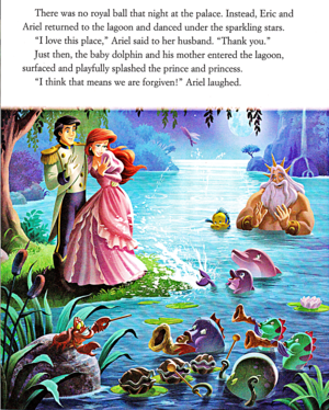Walt Disney libri – The Little Mermaid: Ariel's delfino Adventure (English Version)