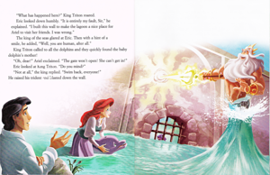 Walt Disney sách – The Little Mermaid: Ariel's cá heo Adventure (English Version)