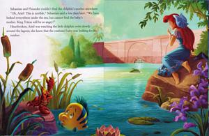 Walt ディズニー 本 – The Little Mermaid: Ariel's イルカ Adventure (English Version)