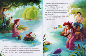 Walt Disney Books – The Little Mermaid: Ariel's dolpin Adventure (English Version)