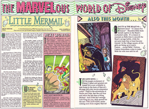 Walt Disney Comics - The Little Mermaid: Sink یا Swim (English Version)