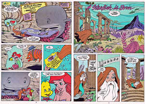 Walt disney Comics - The Little Mermaid: Sink atau Swim (English Version)