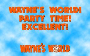 Wayne's World Quote Wallpaper
