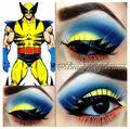 Wolverine Eye Shadow pt. 2 - x-men photo