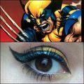 Wolverine Eye Shadow pt. 6 - x-men photo
