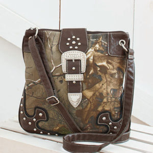 Women Camo Ladies Shoulder Handbag portemonnee