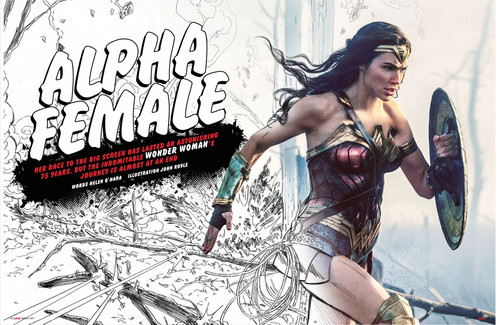 Wonder Woman (2017) fond d'écran entitled Wonder Woman feature in Empire Magazine - March 2017 [1/4]