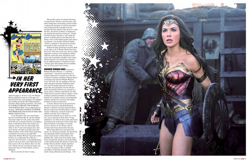 Wonder Woman (2017) fond d'écran called Wonder Woman feature in Empire Magazine - March 2017 [2/4]