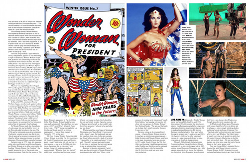 Wonder Woman (2017) wallpaper entitled Wonder Woman feature in Empire Magazine - March 2017 [3/4]