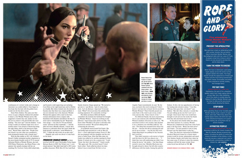 Wonder Woman (2017) fond d'écran titled Wonder Woman feature in Empire Magazine - March 2017 [4/4]