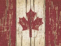 Wood Canada flag