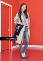 YOONA DOES '80'S LOOK IN SPRING ADS FOR H: CONNECT - im-yoona photo