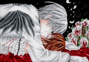 Yuuki/Zero Fanart - Bloody Roses On A Sweet Night