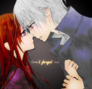 Yuuki/Zero Fanart - Don't Forget Me