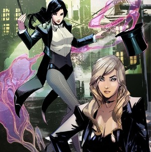 Zatanna and Black Canary