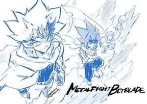 Zero-G (Ryuuga, Gingka, Benkei and Kyouya)
