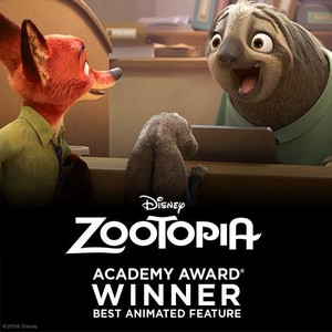 Zootopia wins Oscar for Best Animated Film