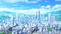 anime city - anime photo