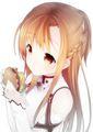 asuna eatin - sword-art-online photo
